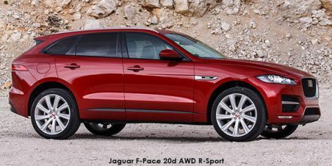 Jaguar F-Pace 25t R-Sport - Image credit: © 2018 duoporta. Generic Image shown.