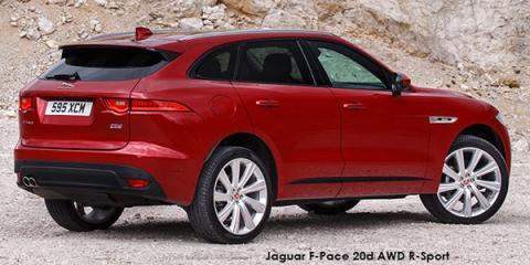 Jaguar F-Pace 25d AWD R-Sport - Image credit: © 2018 duoporta. Generic Image shown.