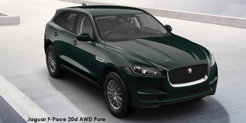 Jaguar F-Pace 30d AWD Pure - Image credit: © 2018 duoporta. Generic Image shown.