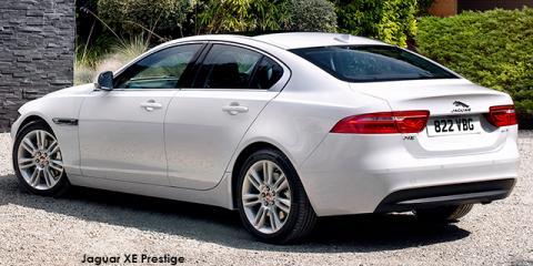 Jaguar XE 20d Prestige - Image credit: © 2018 duoporta. Generic Image shown.