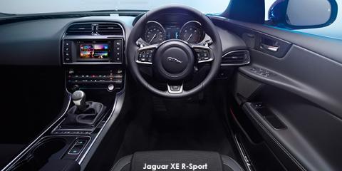 Jaguar XE 25t R-Sport - Image credit: © 2018 duoporta. Generic Image shown.