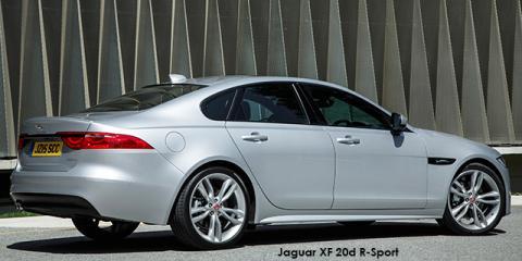 Jaguar XF 20d R-Sport - Image credit: © 2018 duoporta. Generic Image shown.