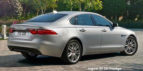 Jaguar XF 25t Prestige - Image credit: © 2018 duoporta. Generic Image shown.