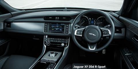 Jaguar XF 25d R-Sport - Image credit: © 2018 duoporta. Generic Image shown.