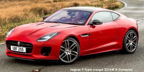 Jaguar F-Type coupe 280kW auto - Image credit: © 2018 duoporta. Generic Image shown.