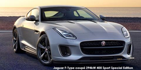 Jaguar F-Type coupe 294kW 400 Sport Special Edition - Image credit: © 2019 duoporta. Generic Image shown.