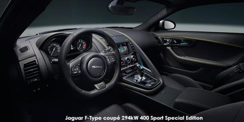 Jaguar F-Type coupe 294kW 400 Sport Special Edition - Image credit: © 2018 duoporta. Generic Image shown.