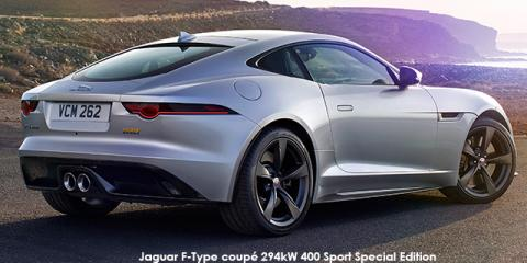 Jaguar F-Type coupe 294kW 400 Sport Special Edition AWD - Image credit: © 2018 duoporta. Generic Image shown.