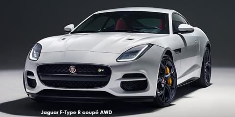 Jaguar F-Type R coupe AWD - Image credit: © 2018 duoporta. Generic Image shown.