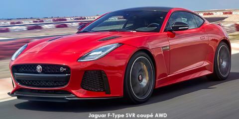Jaguar F-Type SVR coupe AWD - Image credit: © 2018 duoporta. Generic Image shown.