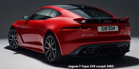 Jaguar F-Type SVR coupe AWD - Image credit: © 2018 duoporta. Generic Image shown.