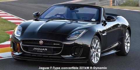 Jaguar F Type Convertible 221kW   Image Credit: © 2018 Duoporta. Generic  Image