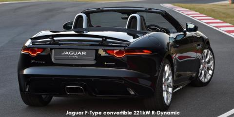 Jaguar F-Type convertible 221kW - Image credit: © 2018 duoporta. Generic Image shown.