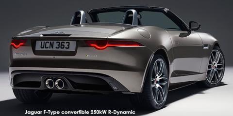 Jaguar F-Type convertible 250kW - Image credit: © 2018 duoporta. Generic Image shown.