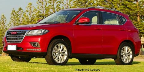 Haval H2 1.5T Luxury auto - Image credit: © 2018 duoporta. Generic Image shown.