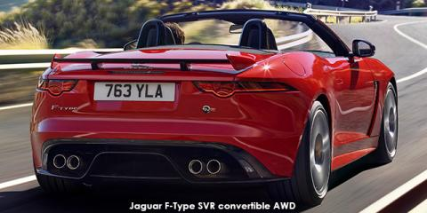 Jaguar F-Type SVR convertible AWD - Image credit: © 2018 duoporta. Generic Image shown.