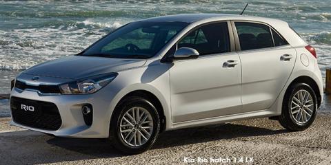 Kia Rio hatch 1.4 LX auto - Image credit: © 2018 duoporta. Generic Image shown.