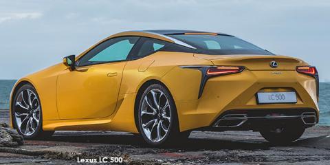 Lexus LC 500 - Image credit: © 2018 duoporta. Generic Image shown.
