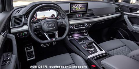 Audi Q5 2.0TDI quattro sport S line sports - Image credit: © 2018 duoporta. Generic Image shown.