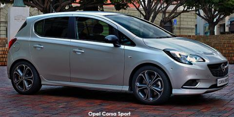 new opel corsa 1 4 turbo sport up to r 2 894 discount new car deals. Black Bedroom Furniture Sets. Home Design Ideas