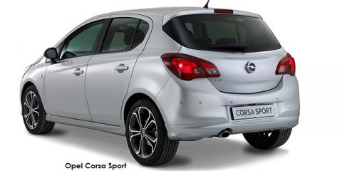 Opel Corsa 1.4 Turbo Sport - Image credit: © 2018 duoporta. Generic Image shown.