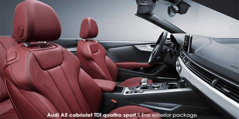 Audi A5 cabriolet 2.0TFSI - Image credit: © 2018 duoporta. Generic Image shown.