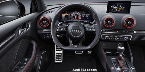 Audi RS3 sedan quattro - Image credit: © 2018 duoporta. Generic Image shown.