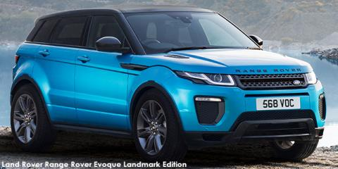 Land Rover Range Rover Evoque SE Dynamic TD4 Landmark Edition - Image credit: © 2019 duoporta. Generic Image shown.