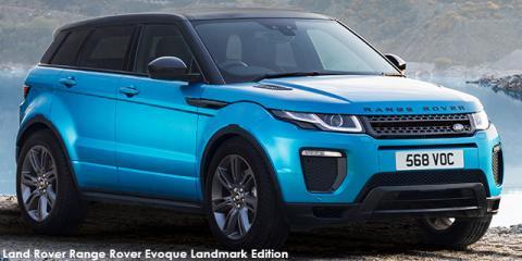 Land Rover Range Rover Evoque SE Dynamic TD4 Landmark Edition - Image credit: © 2018 duoporta. Generic Image shown.