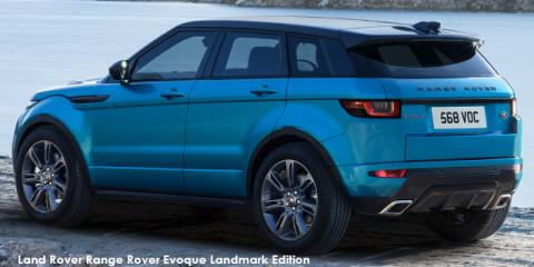 new land rover range rover evoque se dynamic td4 landmark edition up to r 70 000 discount new. Black Bedroom Furniture Sets. Home Design Ideas