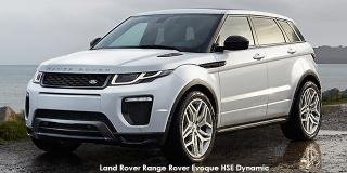 Land Rover Range Rover Evoque - Image credit: © 2018 duoporta. Generic Image shown.