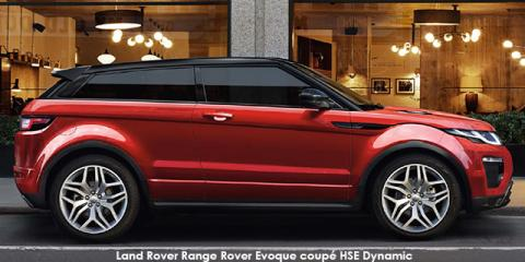 Land Rover Range Rover Evoque coupe HSE Dynamic Si4 - Image credit: © 2018 duoporta. Generic Image shown.