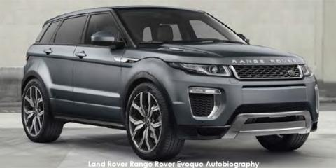 Land Rover Range Rover Evoque Autobiography Si4 213kW - Image credit: © 2019 duoporta. Generic Image shown.