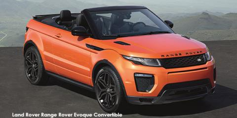 Land Rover Range Rover Evoque convertible HSE Dynamic Si4 - Image credit: © 2018 duoporta. Generic Image shown.