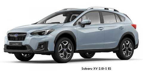 Subaru XV 2.0i-S ES - Image credit: © 2018 duoporta. Generic Image shown.