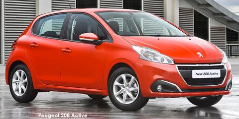 Peugeot 208 1.2 Active - Image credit: © 2018 duoporta. Generic Image shown.