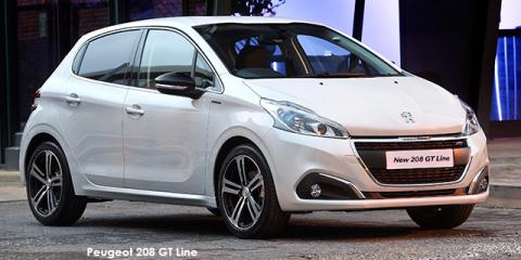 Peugeot 208 1.2T GT Line - Image credit: © 2018 duoporta. Generic Image shown.