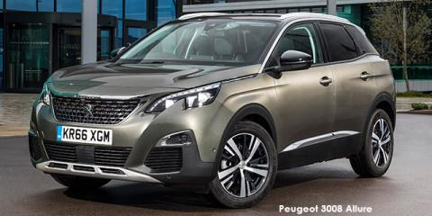 Peugeot 3008 1.6T Active - Image credit: © 2018 duoporta. Generic Image shown.