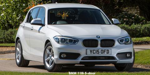 BMW 118i 5-door auto - Image credit: © 2018 duoporta. Generic Image shown.