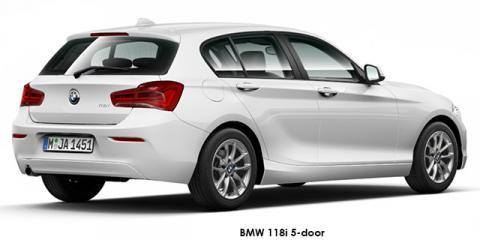 BMW 118i 5-door auto - Image credit: © 2018 duoporta. Generic Image shown.