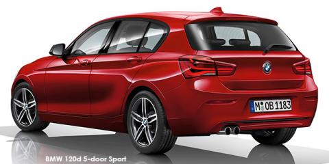 BMW 120i 5-door Sport Line sports-auto - Image credit: © 2018 duoporta. Generic Image shown.