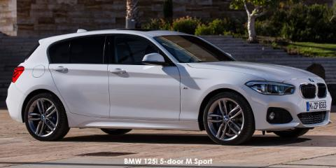 BMW 120i 5-door M Sport sports-auto - Image credit: © 2019 duoporta. Generic Image shown.
