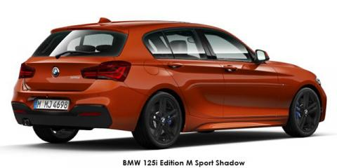 BMW 120i 5-door Edition M Sport Shadow sports-auto - Image credit: © 2018 duoporta. Generic Image shown.