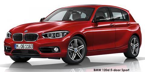 BMW 120d 5-door Sport Line auto - Image credit: © 2018 duoporta. Generic Image shown.