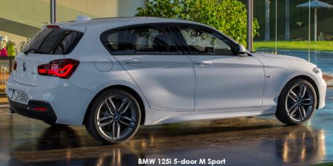 BMW 125i 5-door M Sport sports-auto - Image credit: © 2018 duoporta. Generic Image shown.