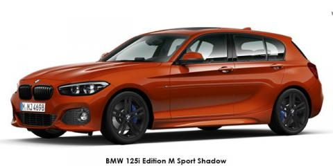 BMW 125i 5-door Edition M Sport Shadow sports-auto - Image credit: © 2018 duoporta. Generic Image shown.