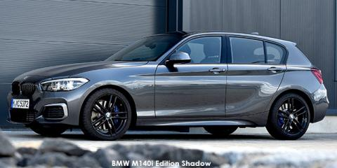 BMW M140i 5-door Edition Shadow sports-auto - Image credit: © 2018 duoporta. Generic Image shown.