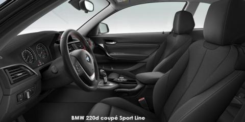 BMW 220d coupe Sport Line - Image credit: © 2019 duoporta. Generic Image shown.