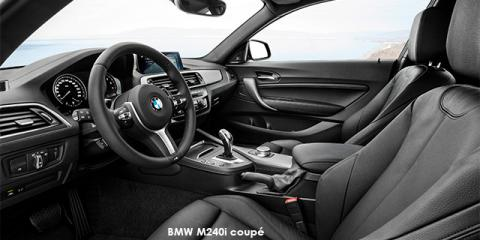 BMW M240i coupe sports-auto - Image credit: © 2018 duoporta. Generic Image shown.