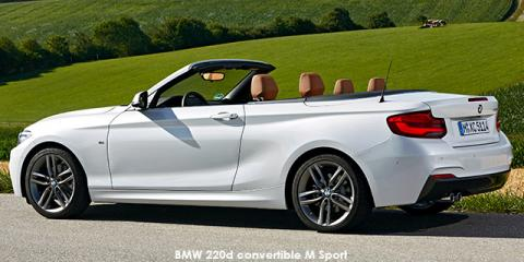 BMW 220i convertible Sport Line sports-auto - Image credit: © 2019 duoporta. Generic Image shown.